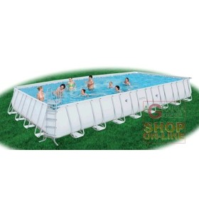 BESTWAY SWIMMING POOL WITH SELF-SUPPORTING FRAME WITHOUT THE