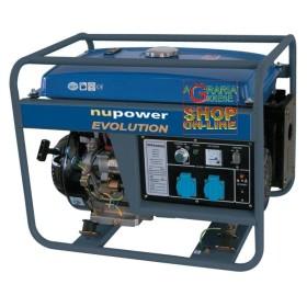 NUPOWER GENERATOR NPEGG5200 ELECTRIC START KW. 5,2