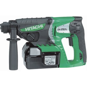 TASSELLATORE HITACHI DH25DL 25.2V 3Ah CON 2 BATTERIE LITIO LI-ION ATTACCO SDS-PLUS