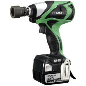 Impact WRENCH HITACHI WR14DBDL 14.4 V 4.0 Ah CWITH 2 BATTERIES