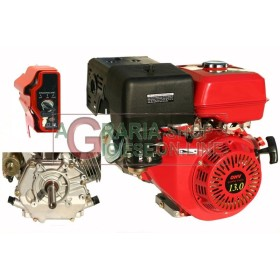 GASOLINE ENGINE TYPE HORIZONTAL HP. 13 CYLINDRICAL ELECTRIC