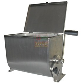 LEONARDI MIXING MACHINE, MIXER, MEAT STAINLESS STEEL LT. 32