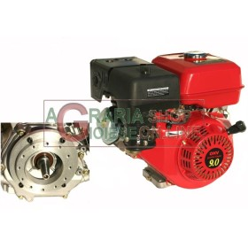 GASOLINE ENGINE TYPE HORIZONTAL HP. 9 TAPERED RECOIL STARTER