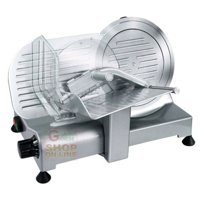ELECTRIC SLICER RGV PROFESSIONAL LUXURY 25 GL BLADE MM 250 WATTS. 140