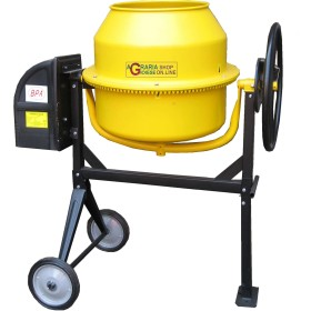 CEMENT MIXER ELECTRIC MOD. MX 140 WATTS 550 220V LT. 140 WITH
