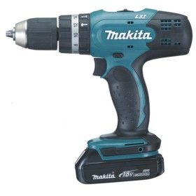 MAKITA BHP453RHE power DRILL BATTERY 18V WITH 2 BATTERIES 1.3 Ah