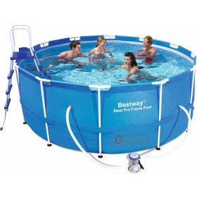 BESTWAY 56088 SWIMMING POOL SELF-SUPPORTING WITH FRAME CM.