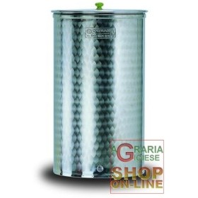 CORDIVARI CONTAINER IN STAINLESS STEEL 18/10 AISI 316 FOR FOOD