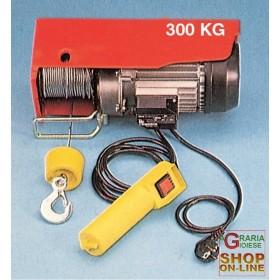 ELECTRIC HOIST-HERCULES, KG. 300/600 CABLE ML. 18