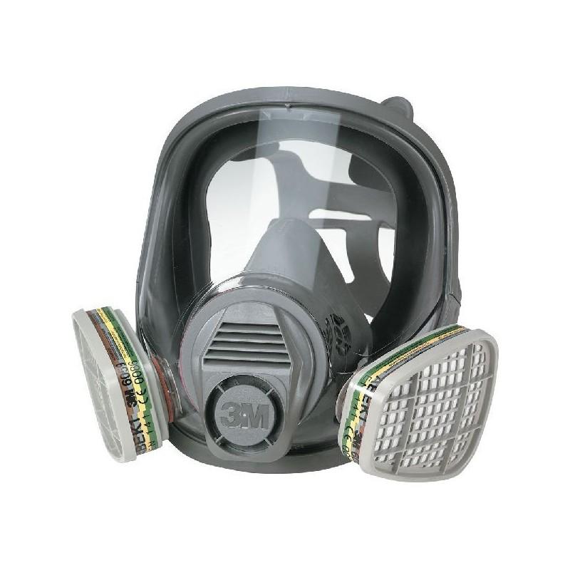 mascherina con filtri 3m