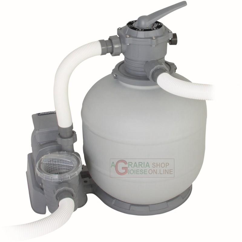 Bestway 58366 Pompa Filtrante Per Piscina A Sabbia Da 7