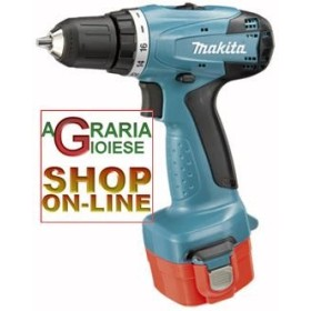 MAKITA 6270DWPET DRILL-BATTERY 12V-1.3 AH WITH 2 BATTERIES