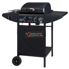 GAS BARBECUE WITH LAVA STONE STOVE ER8203C