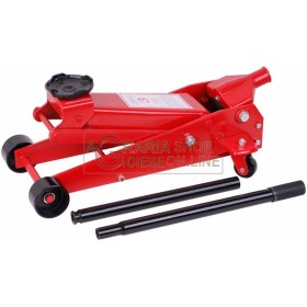 HYDRAULIC JACK TROLLEY-THREE TONS CASE TONS.3 JACKS FOR CAR
