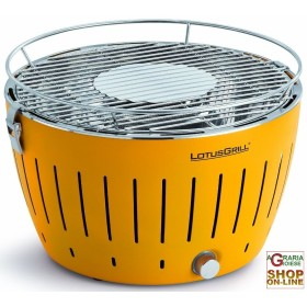 LOTUSGRILL LOTUS GRILL BBQ TABLE PORTABLE OUTDOOR YELLOW