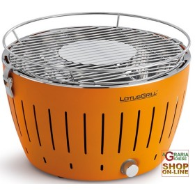 LOTUSGRILL LOTUS GRILL BBQ TABLE PORTABLE OUTDOOR ORANGE ORANGE