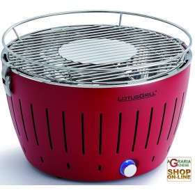 LOTUSGRILL LOTUS GRILL BBQ TABLE PORTABLE OUTDOOR RED