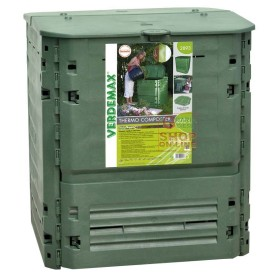 VERDEMAX COMPOSTER COMPOSTER CONTAINER FOR COMPOSTING