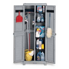 TERRY-IN CLOSET WAVE-2 DOORS CM. 70x44x181h broom 3700 UTILITY