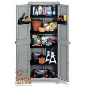 TERRY-in CLOSET WAVE-2 DOORS cm. 70x44x181h BASE 2700 UTILIY