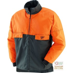 JACKET IN COTTON AND POLYESTER, FOR USE WITH CHAIN SAWS TG