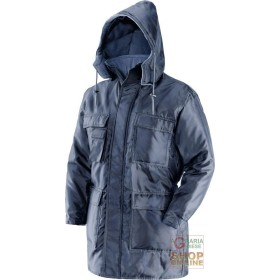 JACKET INSULATED 100% POLYESTER COLOR BLUE EN 342 TG