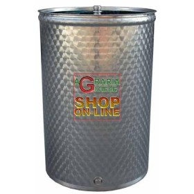 SANSONE STAINLESS STEEL CONTAINER BARREL WELDED TO THE LT 150