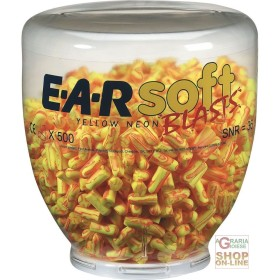 LOAD FROM 500 PAIRS OF PLUGS EARSOFT YELLOW NEON BLAST TO THE