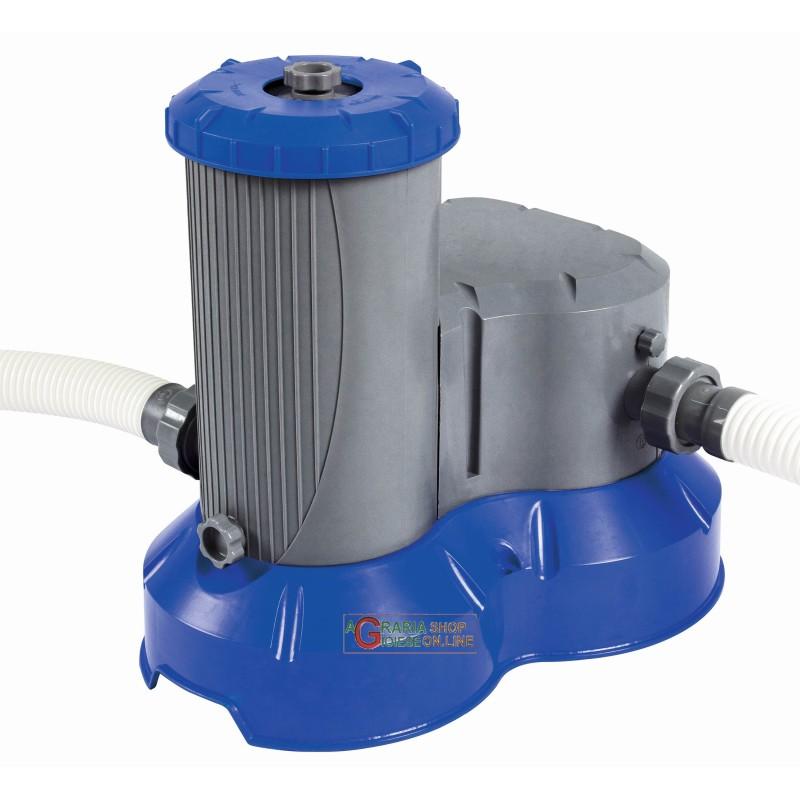 Bestway 58391 pompa filtrante per piscina con filtro - Pompa per piscina ...