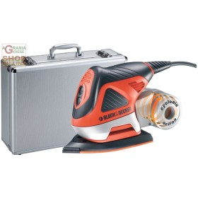 BLACK AND DECKER SANDER MULTI-FUNCTION KA270MET WITH CASE