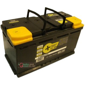 LONGLIFE CAR BATTERY 100Ah SIGGILLATA WITHOUT MAINTENANCE