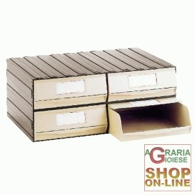 CHEST OF DRAWERS FOR THE OFFICE, PVC 4 DRAWERS