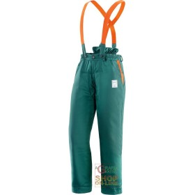 TROUSERS 65% POLYESTER 35% COTTON PADDED FOR USE OF CHAIN SAWS