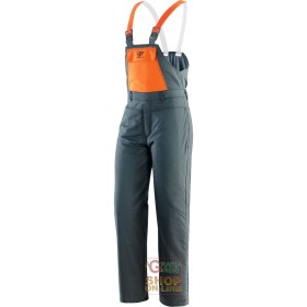 VEST, COTTON-POLYESTER PADDED EN 381 5, FOR USE WITH CHAIN SAWS