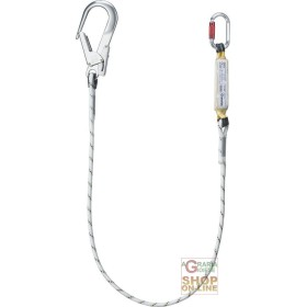 LANYARD FOR FALL ARREST WITH ABSORBER D ENERGY WITH CONNECTORS