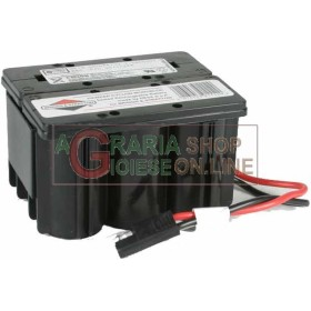 ORIGINAL BATTERY FOR BRIGGS AND STRATTON 12V FOR RIDE-ON MOWER