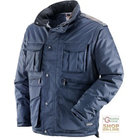 COAT IN POLYESTER PVC WITH PLASTIC SHEETING DETACHABLE SLEEVES
