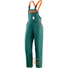 BIB 65% POLYESTER 35% COTTON PADDED FOR USE OF CHAIN SAWS EN