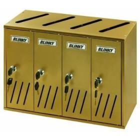 BLINKY CASIER POSTAL ALU BRONZE (K-4 SR.4 42X17,5 X30 27358-04/7