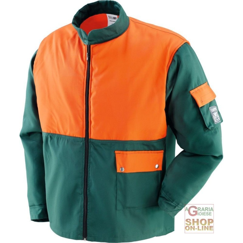 GIACCA 65% POLIESTERE 35% COTONE USO FORESTALE EN 381 11 TG S M