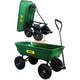 BLINKY STEEL TROLLEY ARGO FOUR WHEEL FOLDING LT. 80