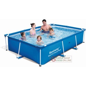 BESTWAY SWIMMING POOL WITH FRAME CM. 259X170X61H MOD.56042