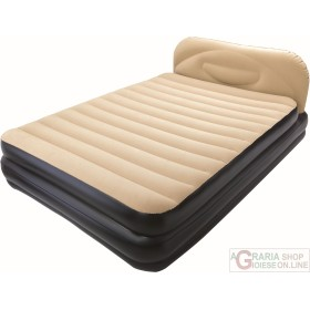 BESTWAY AIRBED SOFT BACK ELEVATED LETTO MATRIMONIALE DOPPIO
