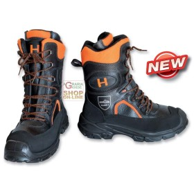 HITACHI BOOTS, CUT-PROOF LEATHER FOR LUMBERJACK CLASS1 TG. FROM