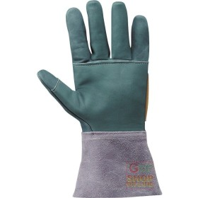 GLOVE FLOWER CRUST SLEEVE CM 15 PARANOCCHE SEAMS FIBRE WITH THE