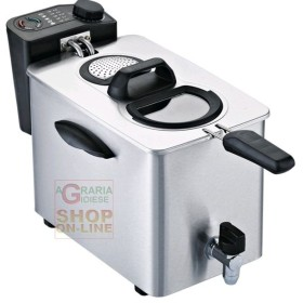 ELECTRIC DEEP FRYER RGV PROFESSIONAL STAINLESS STEEL CAPACITY
