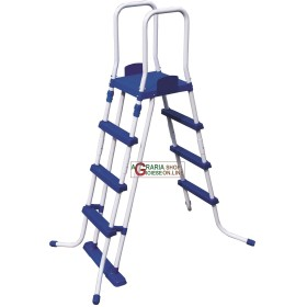 BESTWAY 58331 LADDER SAFETY FOR SWIMMING POOLS STURDY HEIGHT