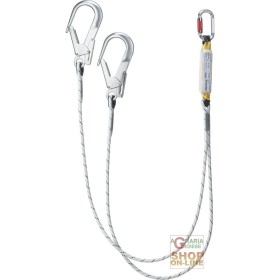 LANYARD FALL PROTECTION AT TWO POINTS OF THE ANCHOR WITH ENERGY
