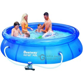 BESTWAY SWIMMING POOL SELF-SUPPORTING, ROUND CM. 305x76h WITH