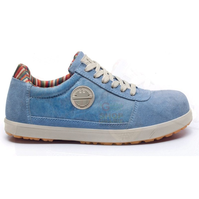 DIKE SHOES ANTIFORTUNISTICA LOW LADY D LEVITY S1P SRC SKY